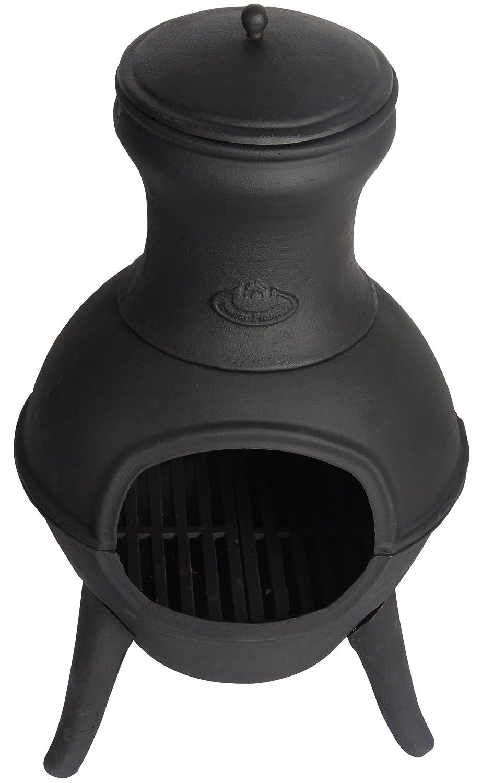 Esschert Design Terrassenofen, schwarz, 40x38x70.5 cm, FF109 Esschert Design BV