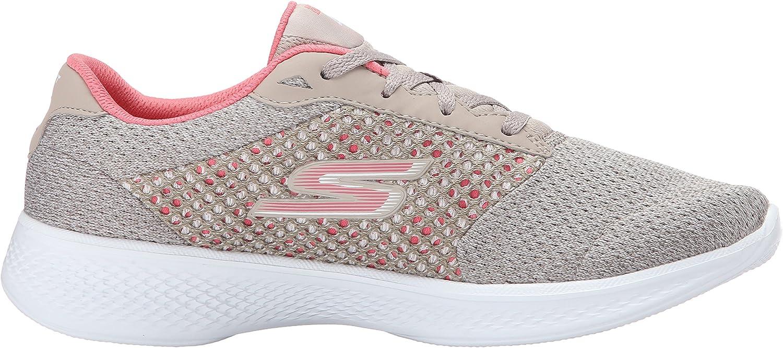 Skechers Women's Gowalk 4 Exceed Low Top Sneakers: Amazon.co