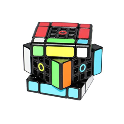 FangShi LimCube Dual 3x3x3 Cube - Professional Twist Cube Puzzles, IQ Challenge Brainteaser Puzzle, Perfect for Gifts & Collection (1.0): Toys & Games