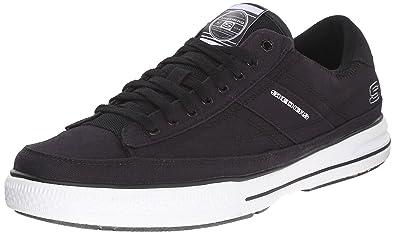 Skechers Arcade Chat Mf, Herren Sneakers, Schwarz (BKW