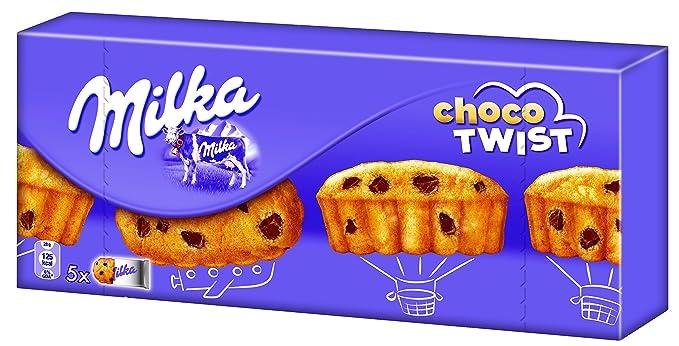 Milka - Tarta Suave Chocolate Con Leche - Pack de 6 Unidades