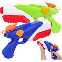 PhyPa 2 Pack Water Guns for Kids Water Soaker Blaster Toys for Girls and Boys Children Summer Swimming Pool Beach Sand…