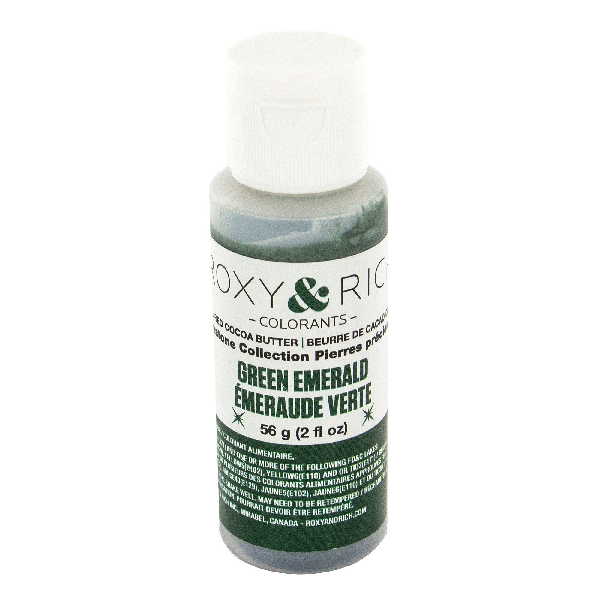 Cocoa Butter, Gemstone Emerald Green 2 Ounces by Roxy & Rich