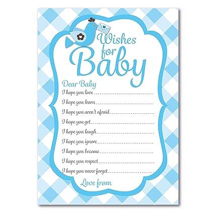Bebé Ducha deseos para bebé tarjetas, 16 unidades), diseño ...