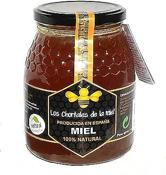 Miel pura de Extremadura 1 kg. Producida en España, sin aditivos ...