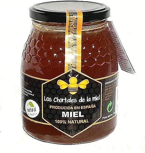 Miel pura de Extremadura 1 kg. Producida en España, sin aditivos, 100% natural. Altísima calidad, directa del productor: Amazon.es: Alimentación y bebidas