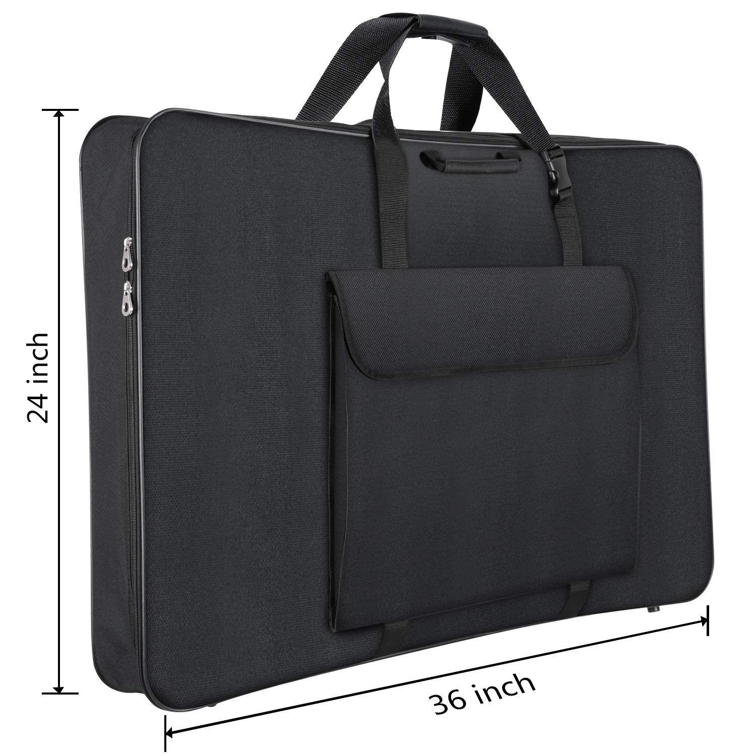 Shoulder Strap 1st Place Premium Art Portfolio Case 24 x 36 Inches Soft Sided Carry All Water Resistant