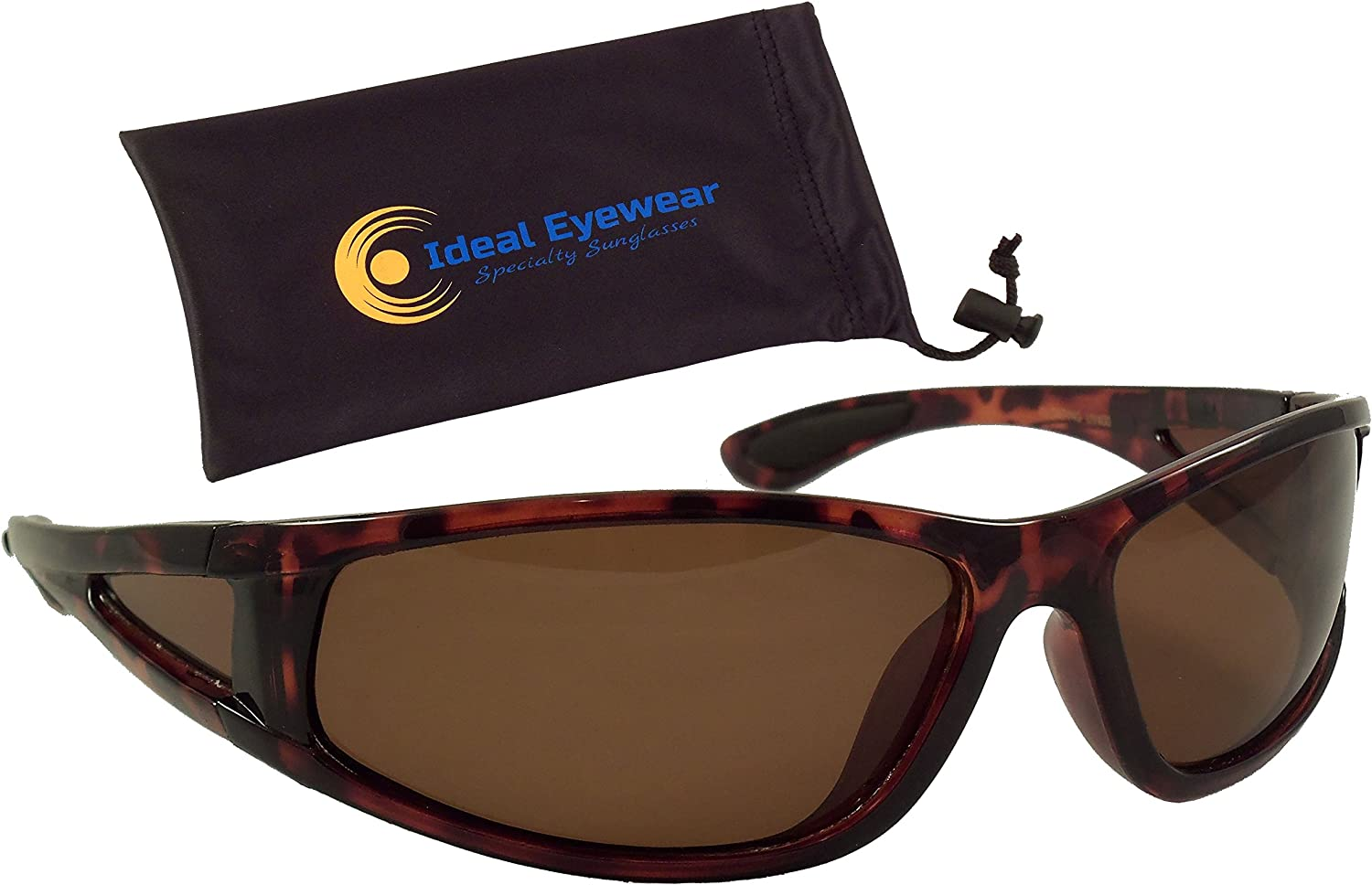 Ideal Eyewear Polarized Floating Sunglasses Great for Fishing, Boating, and Water Sports