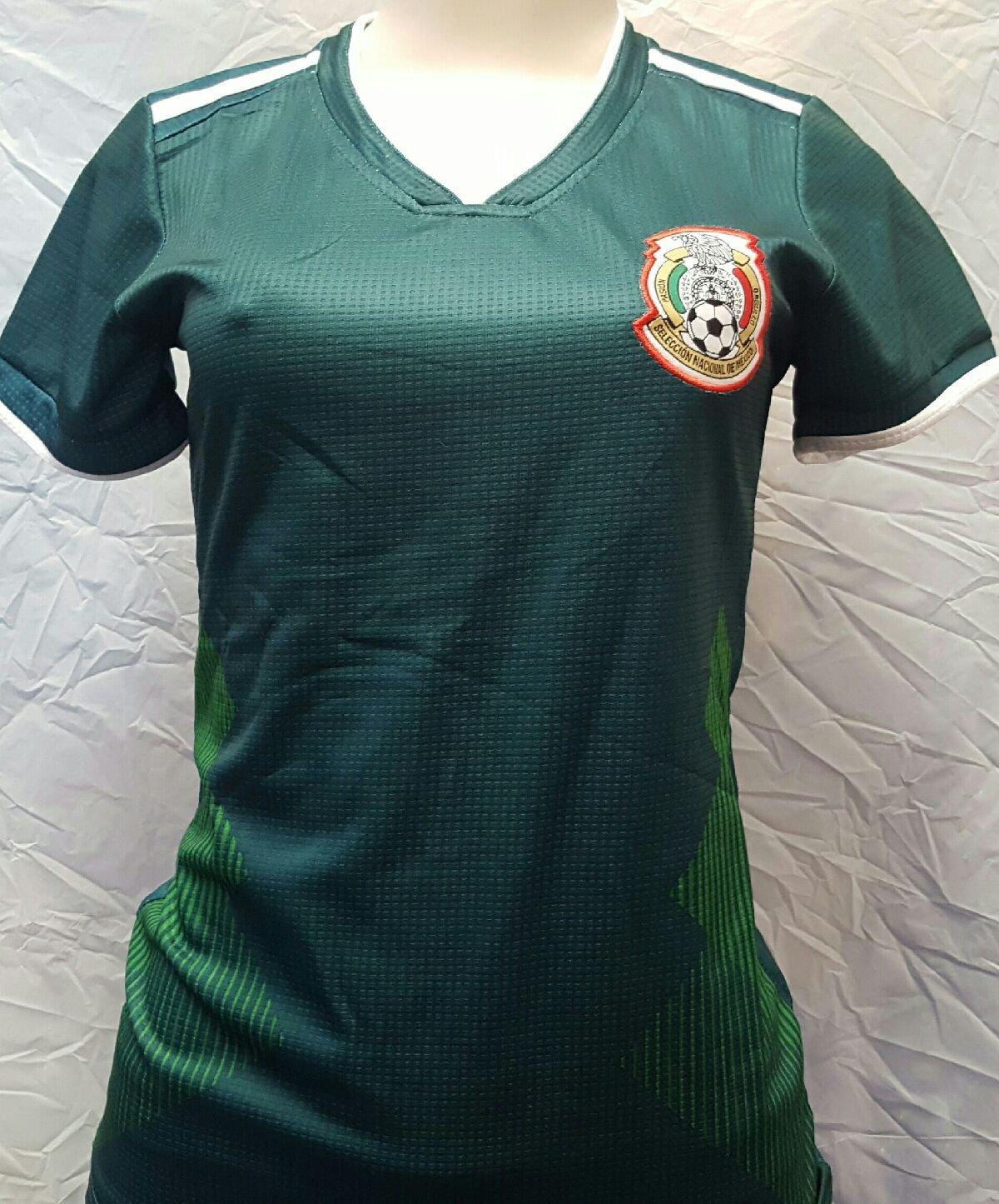 新しい。Ladiesメキシコ国立チーム2018ホームGeneric JerseyサイズXSmall B079YJB3HW