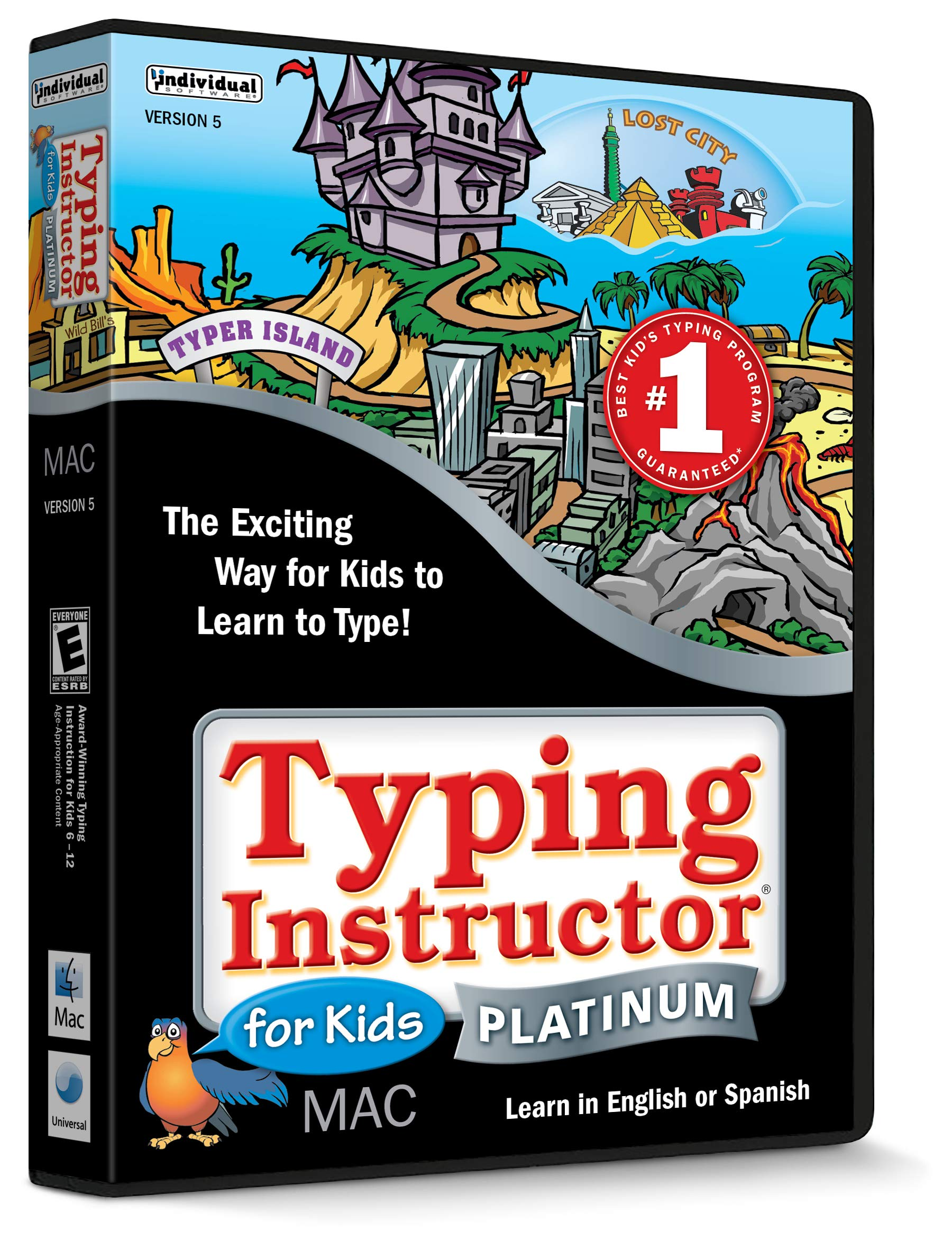 Typing Instructor For Kids Platinum MAC by Individual Software