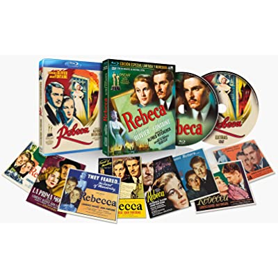 Rebeca BD + DVD de Extras + 8 Postales Con funda 1940  Rebecca [Blu-ray]