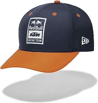 Red Bull KTM New Era 9FIFTY Stretch Gorra, Azul Unisexo Talla única Cap, KTM Factory Racing Original Ropa & Accesorios