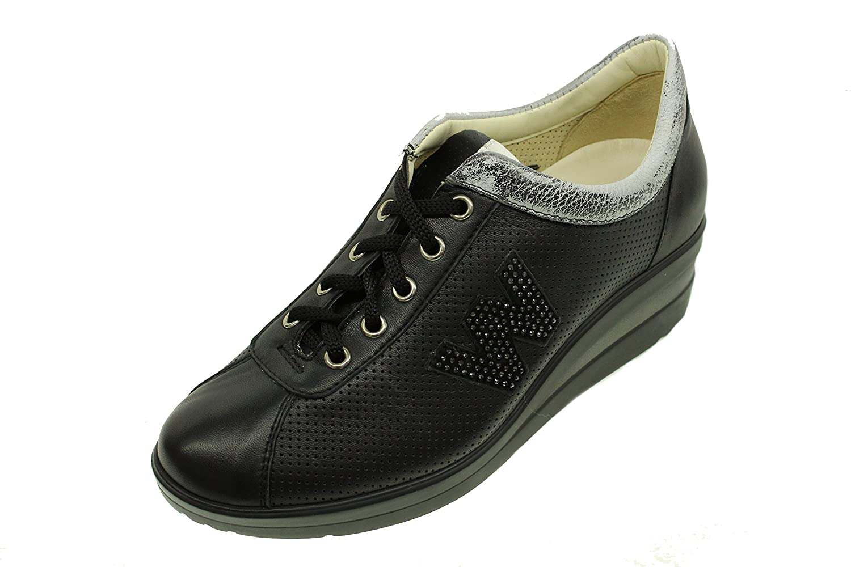 MELLUSO Walk Scarpa Sportiva Donna R20107 Nero E0237  -