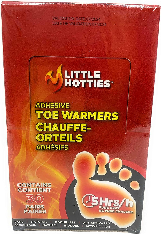 Little Hotties  Toe Warmers Hot Heat Winter