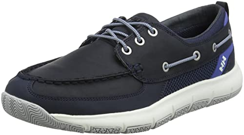 1f4f214f8 Helly Hansen Men's Newport F-1 Sailing Deck Shoe, Navy/Blue Nights/