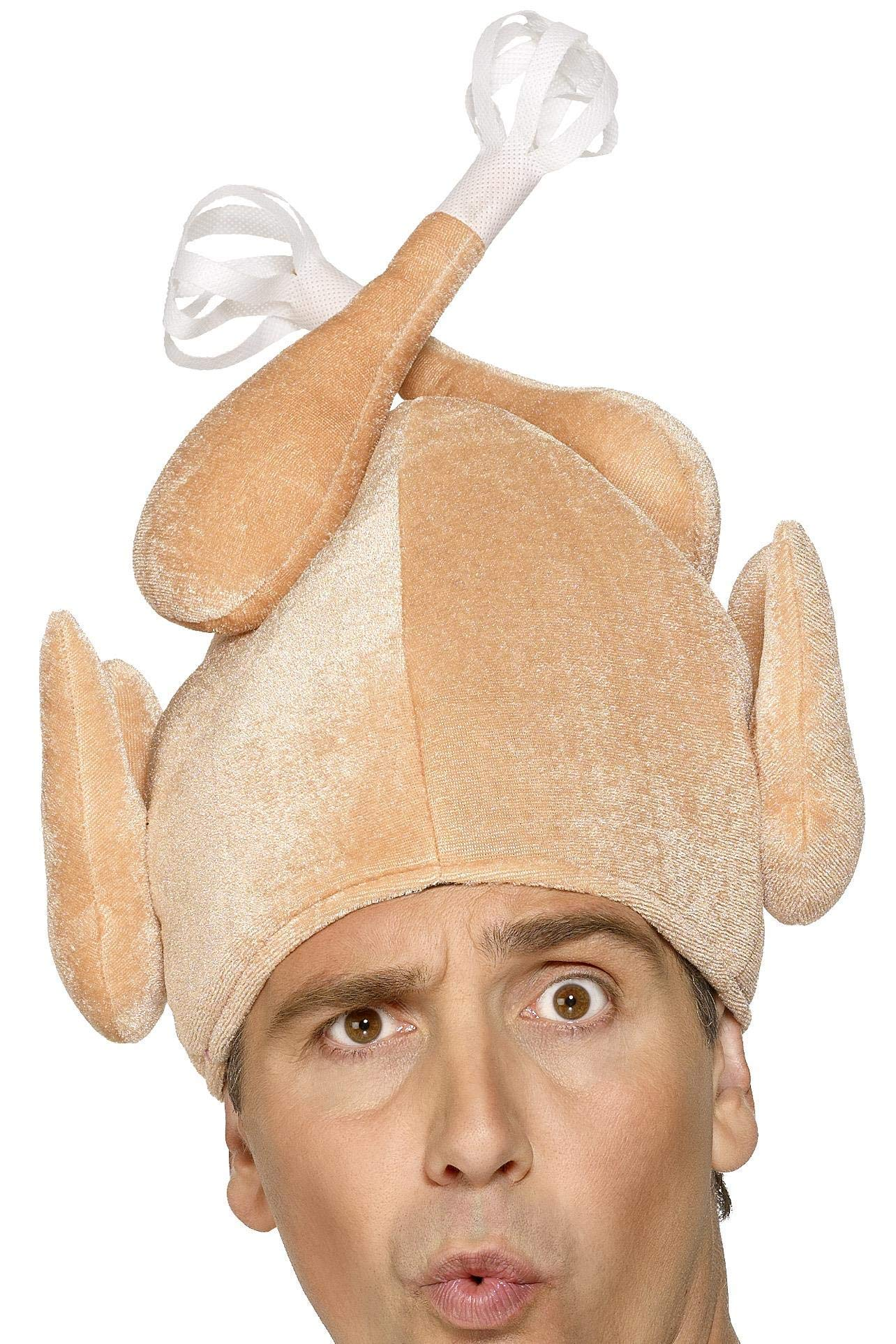 Smiffy's Novelty Christmas Turkey Hat by Smiffy's