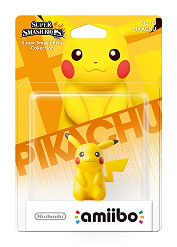 Pikachu No10 Amiibo Nintendo Wii U3ds Amazoncouk Pc Video