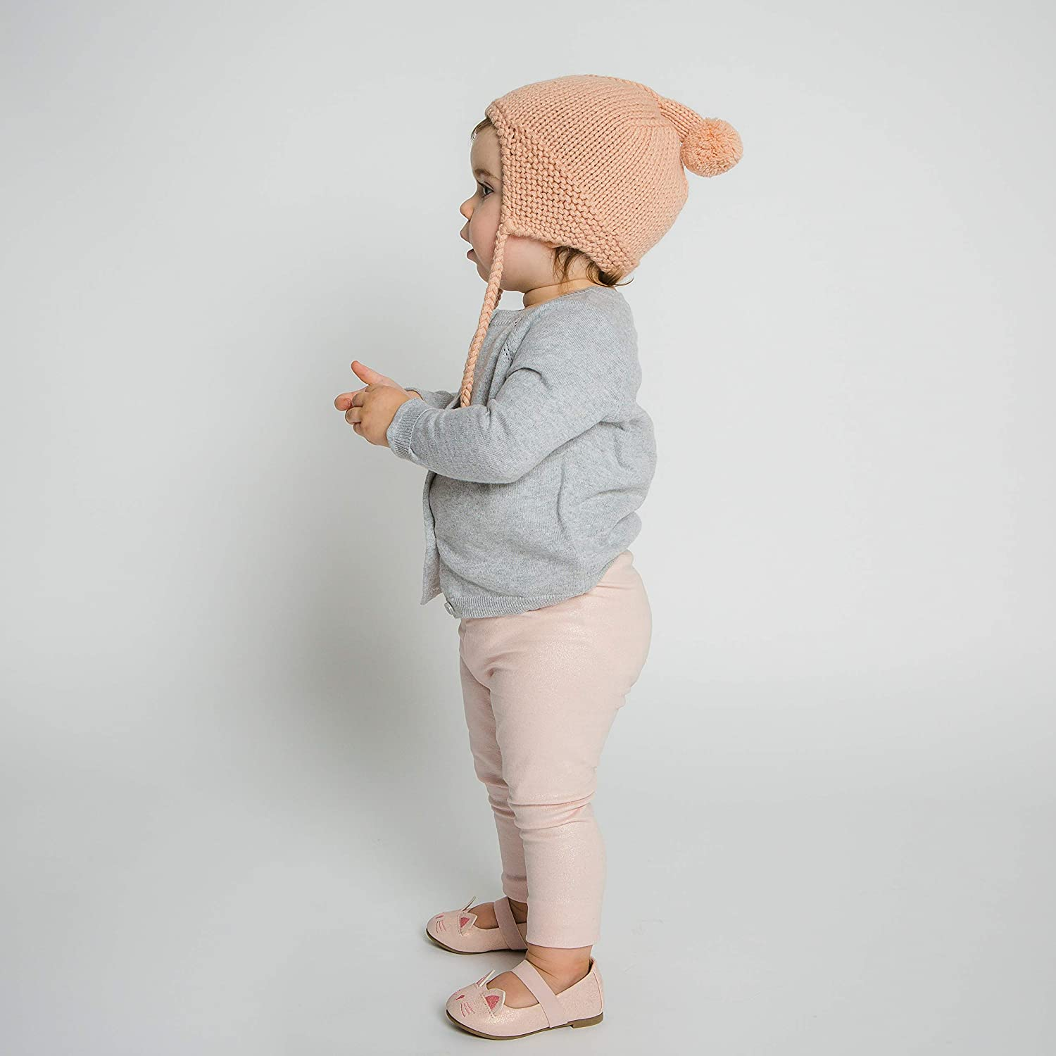 Caraz Bonnet Hat 2T-6T Hand-Knit 100/% Organic Alpaca Wool Hypoallergenic The Perfect and Eco-Friendly Way to Keep Your Baby and Toddler Cozy and Comfortable Soft by Surhilo Quality Blush