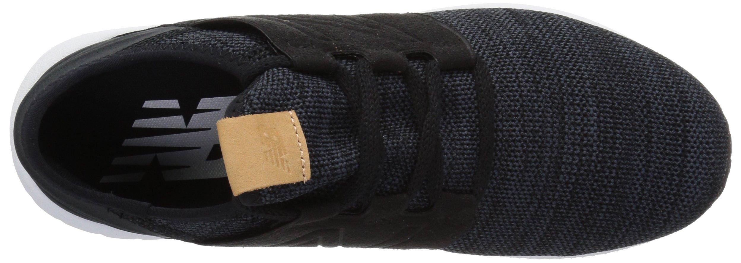 New Balance Men's Cruz V2 Fresh Foam Running Shoe, black/white, 7 D US by New Balance (Image #7)
