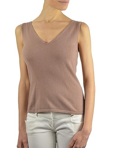 Annalisa Bucci Cashmere, Camiseta de Tirantes para Mujer