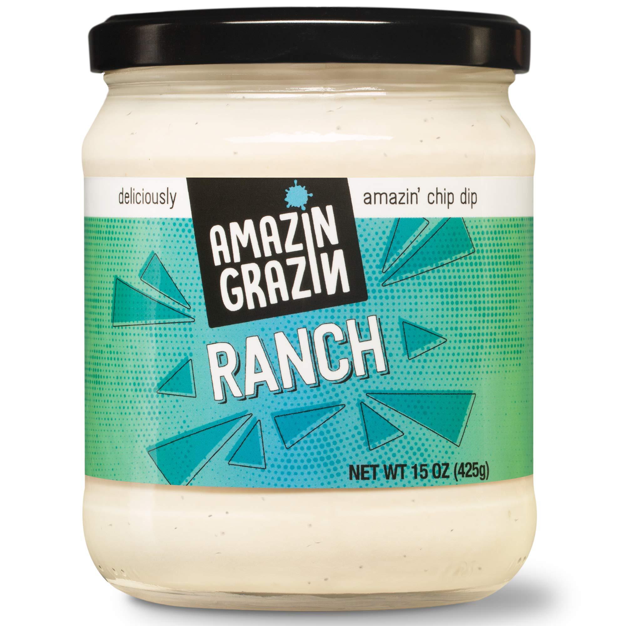 Amazin Grazin Ranch Dip, 15 oz (Pack of 6) by Amazin Grazin