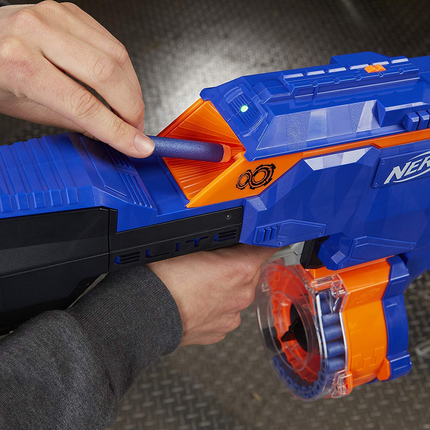 NERF Infinus N-Strike Elite Toy Motorized Blaster with Speed-Load Technology (FFP) by NERF (Image #5)