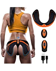 EGEYI Electric Hips Trainer,Muscle Stimulator,Electronic backside Muscle Toner, Smart Wearable Buttock Toner trainer For Men Women,pygal Slimming Machine