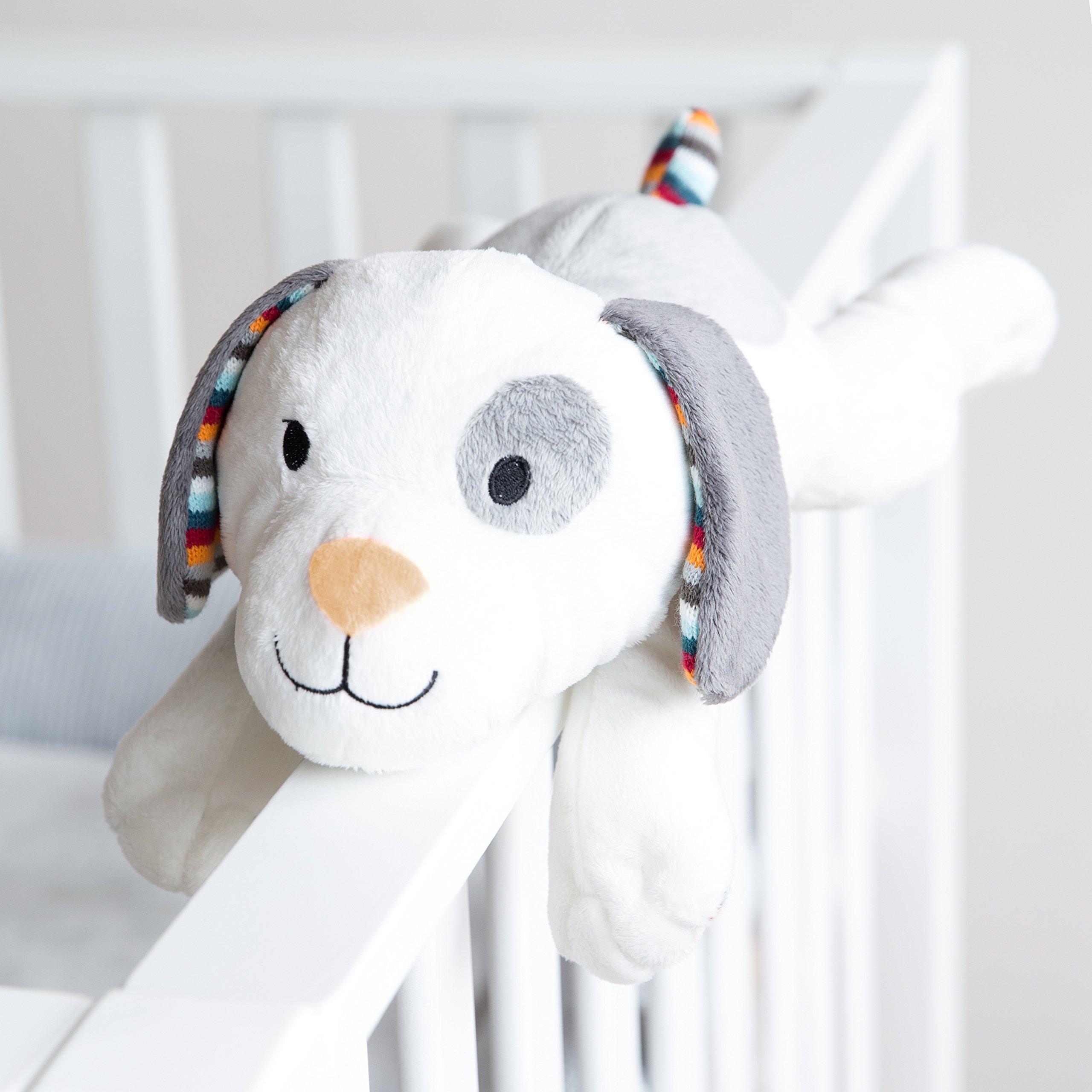 Zazu Kids Soft Heartbeat Toy Voice & Touch Activated Sound Machine Sleep Soother (DEX the Dog), Dog by Zazu Kids