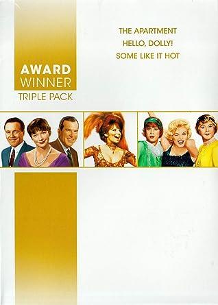 Amazon Com The Apartment Hello Dolly Some Like It Hot Award