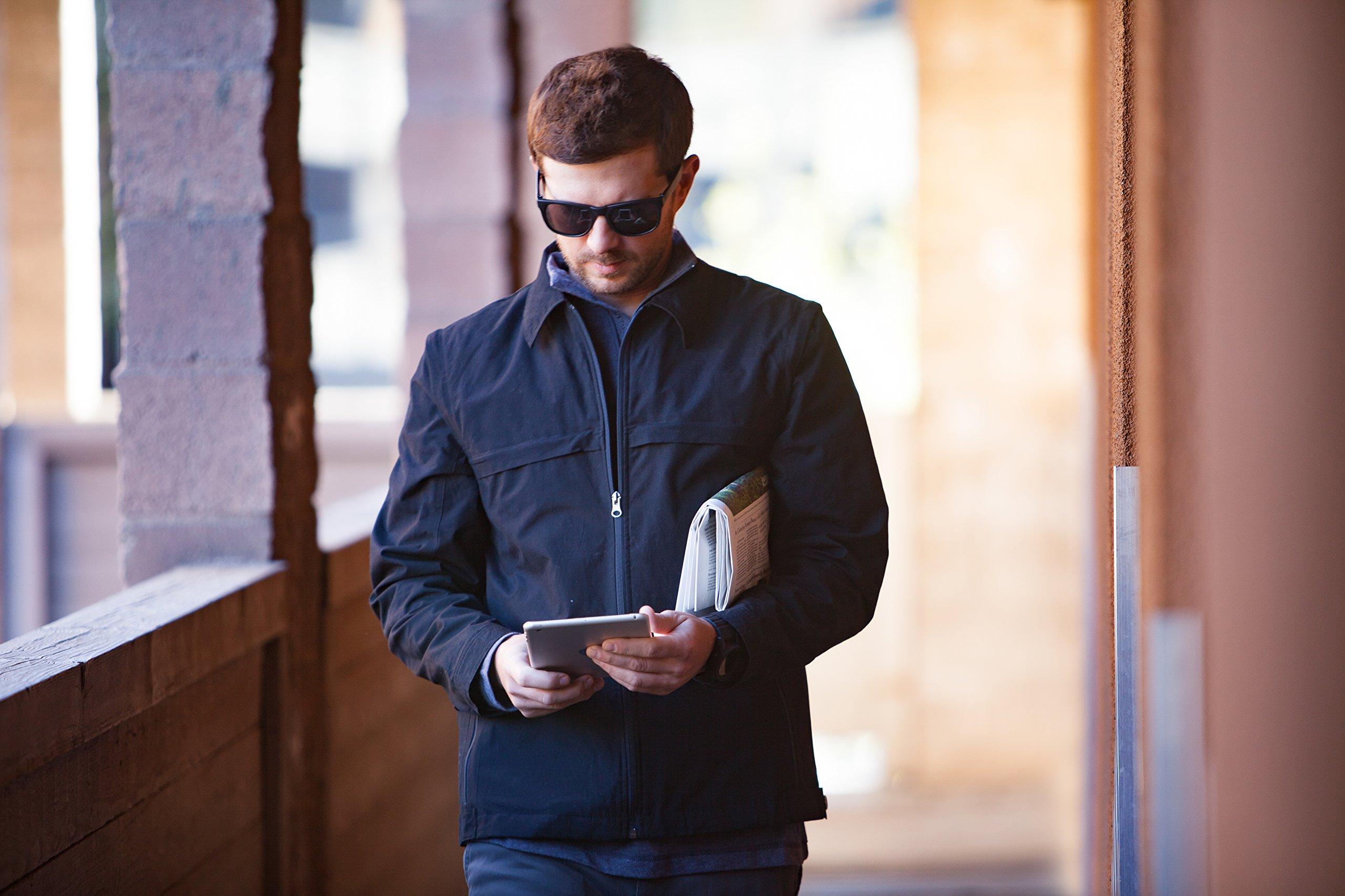 Men's SCOTTeVEST Jacket - 25 Pockets - Travel Clothing BLK M by SCOTTeVEST (Image #3)