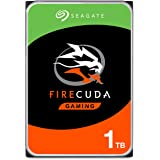 Seagate FireCuda 1TB Solid State Hybrid Drive Performance SSHD – 3.5 Inch Sata 6Gb/s Flash Accelerated Cache for Gaming…