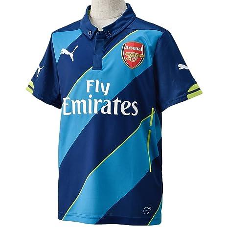 Puma AFC - Camiseta de fútbol infantil, diseño del Arsenal FC azul azul claro/
