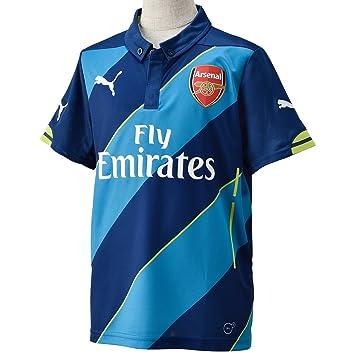 Puma AFC - Camiseta de fútbol infantil, diseño del Arsenal FC azul azul claro/azul oscuro/verde lima Talla:176: Amazon.es: Deportes y aire libre