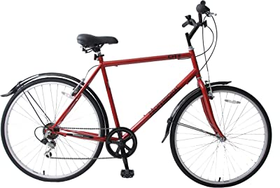 Professional Bikes Mens City Hybrid Bike