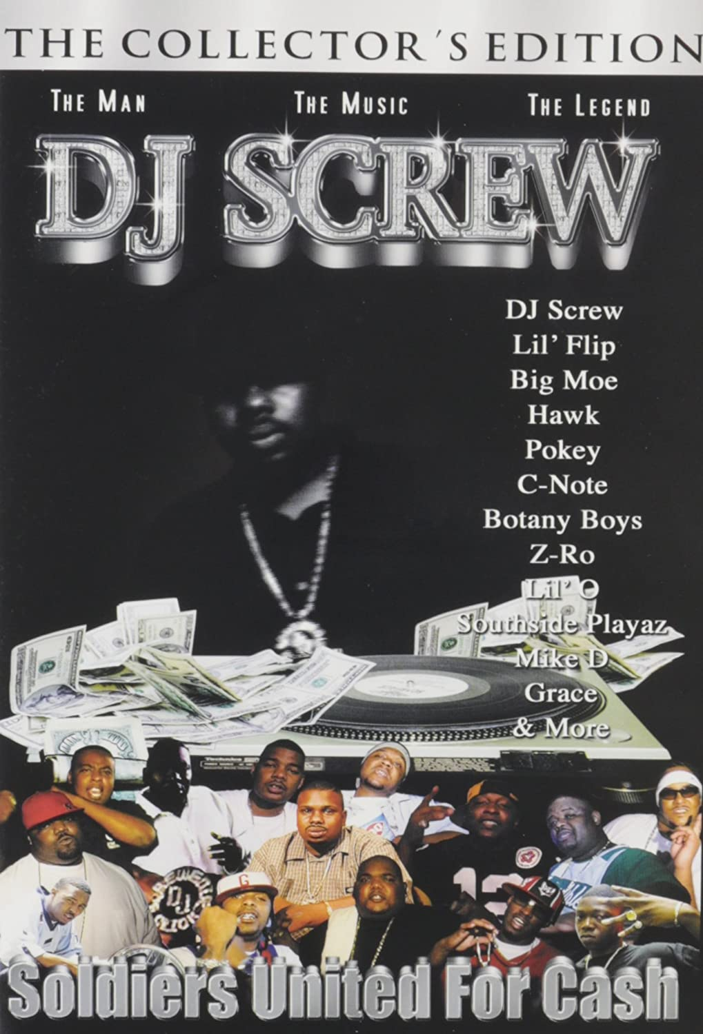Amazon com: Soldiers United for Cash: DJ Screw, The Screwed