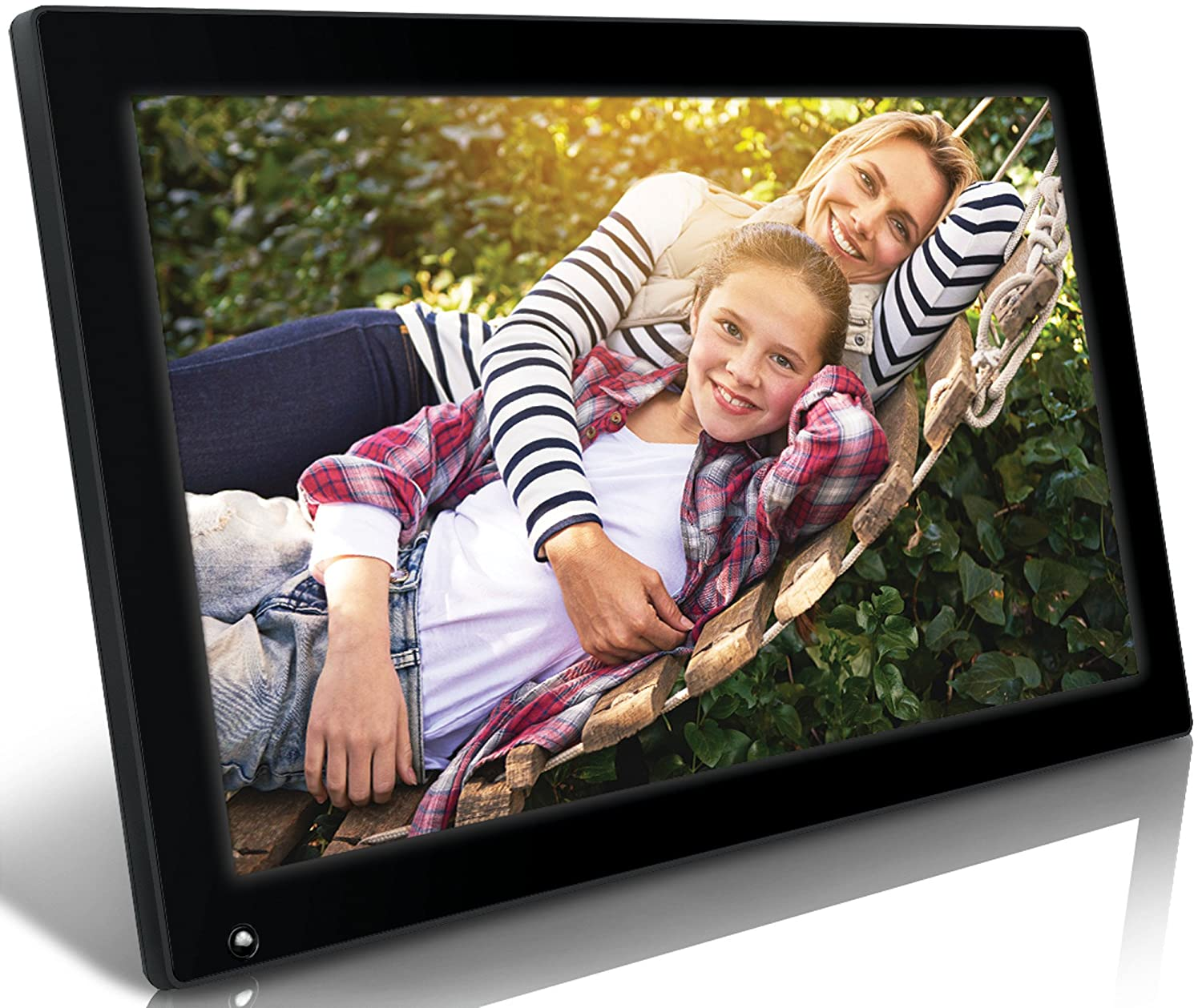 Amazon nixplay original 185 inch wifi cloud digital photo amazon nixplay original 185 inch wifi cloud digital photo frame iphone android app email facebook dropbox instagram picasa w18a camera jeuxipadfo Gallery