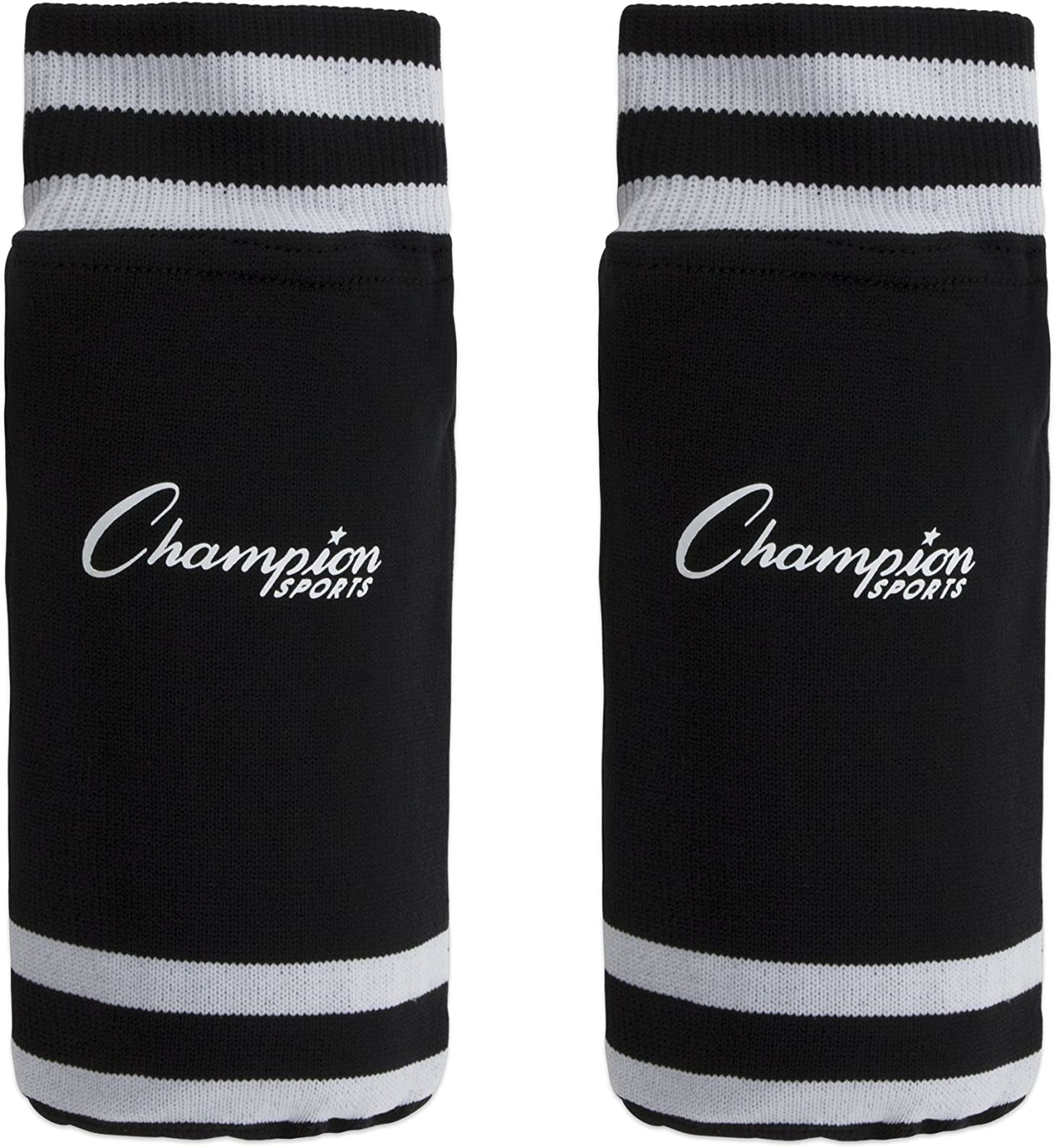 Champion Sports SL4B Youth Sock Style Soccer Shin Guards - Ages 4-6, Black, Small : Soccer Shin Guards : Clothing