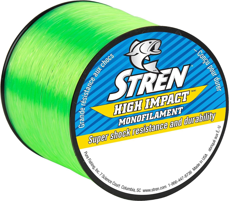 Stren High Impact Monofilament Fishing Line : Sports & Outdoors