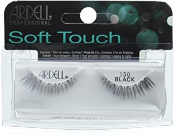 e0d2353ba25 Amazon.com : Ardell Soft Touch Tapered Tip Lashes 150 : Beauty
