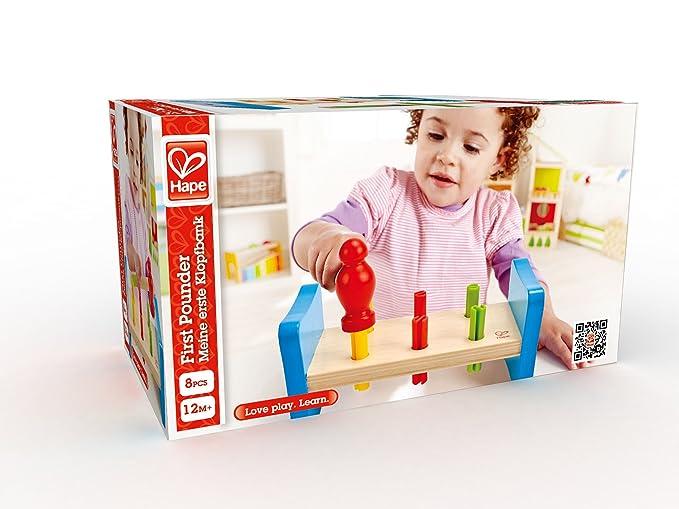 Amazing Hape First Pounder Toddler Wooden Hammer Tool Creativecarmelina Interior Chair Design Creativecarmelinacom