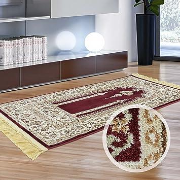 Carpet City Orient Teppich Laufer Flachflor Viskose Acryl Polyester
