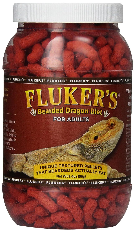 Fluker's 76021 Adult Bearded Dragon Diet Food, 3.4 oz Fluker' s 919003