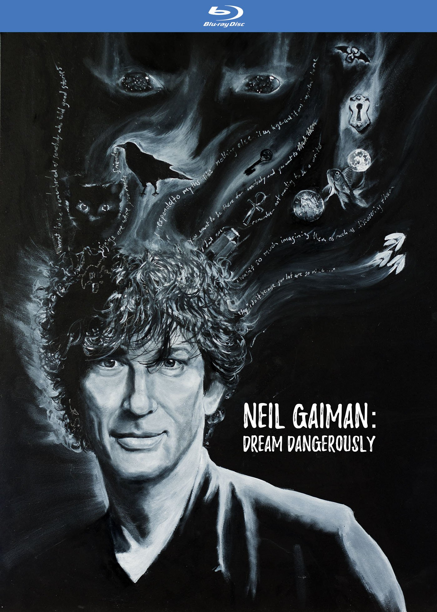 Blu-ray : Neil Gaiman: Dream Dangerously