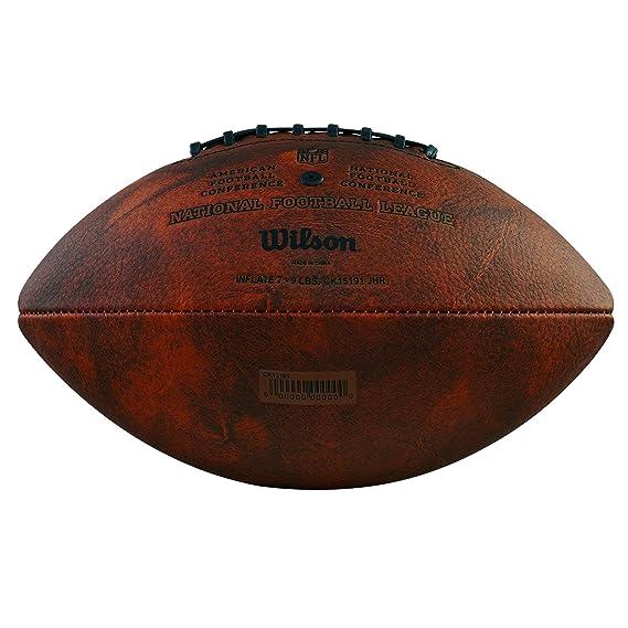 Wilson WTF1192 Pelota de fútbol Americano NFL Autograph para ...