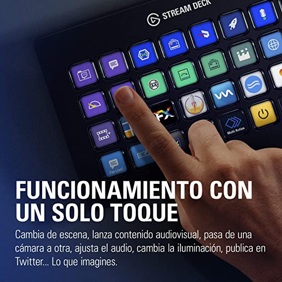 elgato Stream Deck XL - Control avanzado de streaming, 32 teclas ...