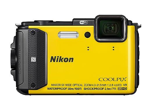 24 opinioni per Nikon Coolpix AW130 Fotocamera Digitale Compatta, 16 Megapixel, Zoom 5X, 6400