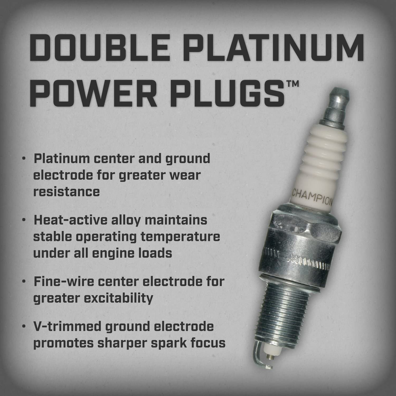 Set of 8 Spark Plug-Platinum Power Champion 3031