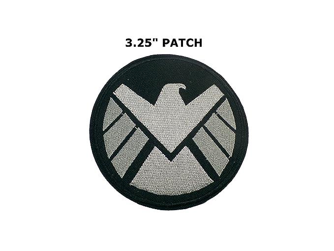 Amazon Marvel Tv Agents Of Shield Emblem Logo Iron On 35