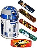 alles-meine.de GmbH 1. Hilfe _ Pflasterset -  Star Wars - R2-D2  - 18 Stück Wasserfeste Pflaster..