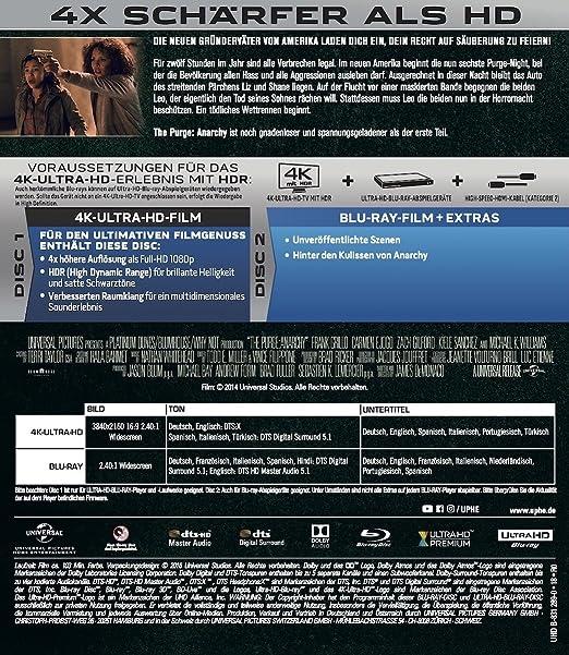 Amazon.com: The Purge - Trilogy (3 4K Ultra HD) (+ 3 Blu-ray ...